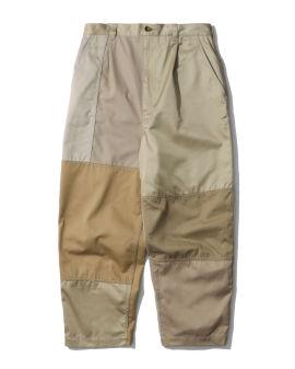 Patched pants