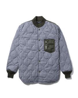 Check padded shirt