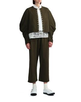 Puff sleeve cardigan