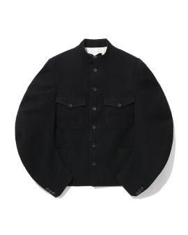 Puff sleeve jacket