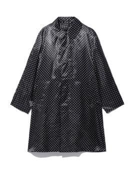 Polka-dot coat