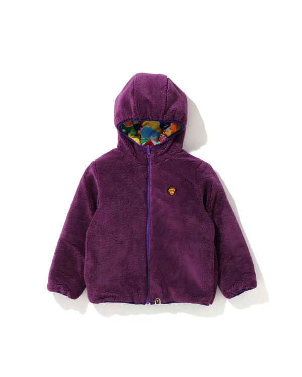 Milo ABC Mul Boa reverisble jacket