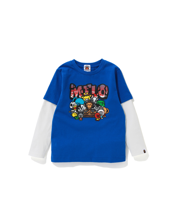 Baby Milo Party layered tee