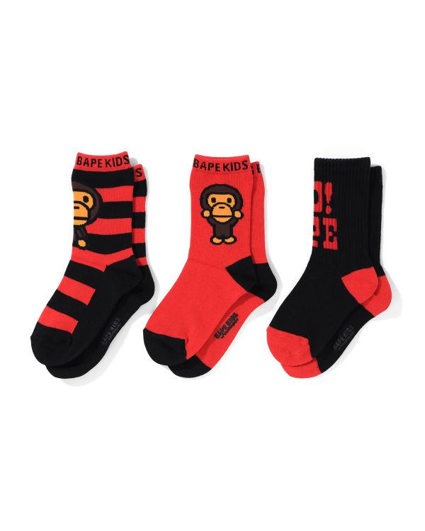Baby Milo socks - 3 pack
