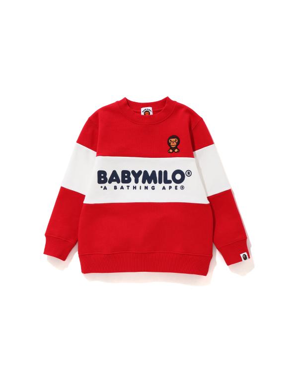 Baby Milo Color Block sweatshirt