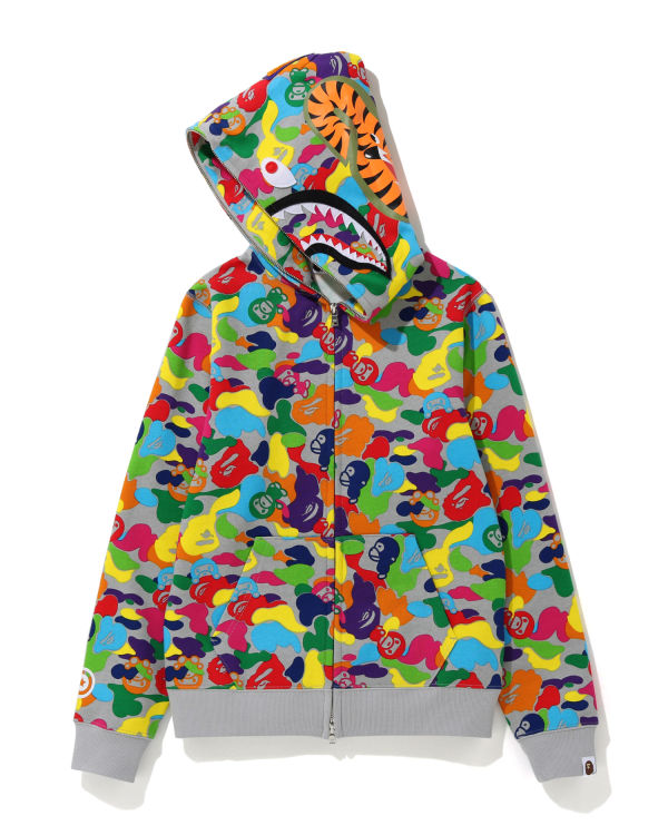 Milo ABC Multi Shark full zip hoodie