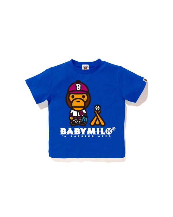 Milo Baseball tee