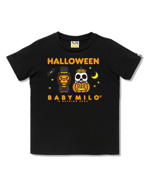 Women's Halloween Baby Milo tee