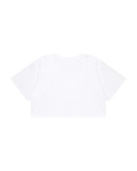 Logo embroidered loose tee