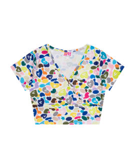 All-over print top