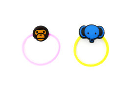 Baby Milo Friends Hair Rubber Band Set
