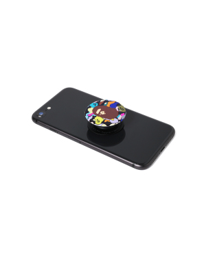 Multi Camo Ape Head PopSockets