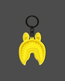 Shark Reflective keychain