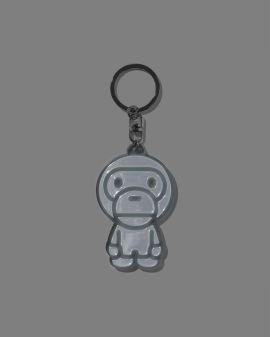 Baby Milo Reflective keychain