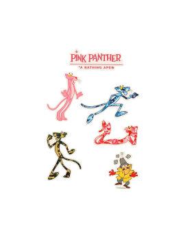 X Pink Panther Sticker Set