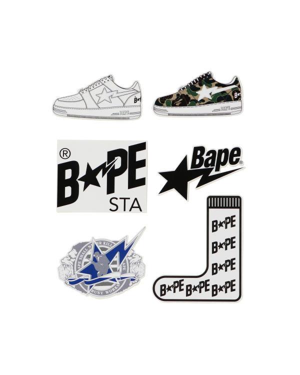 Bape Sta stickers set