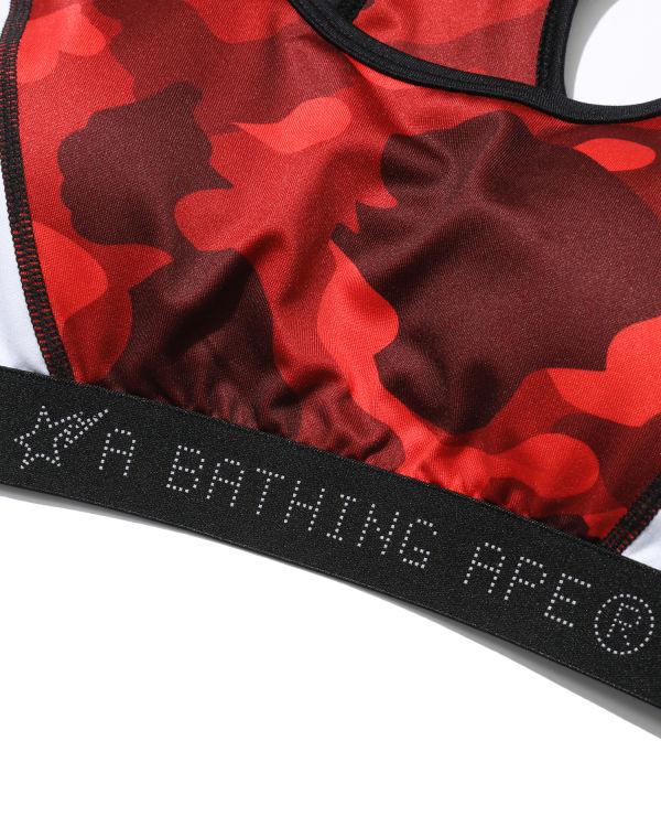 Colour Camo sports bra