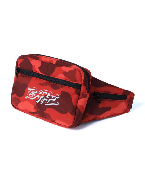 Colour Camo waist bag