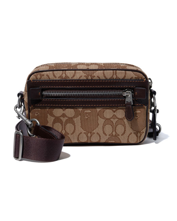 X Coach Academy crossbody bag