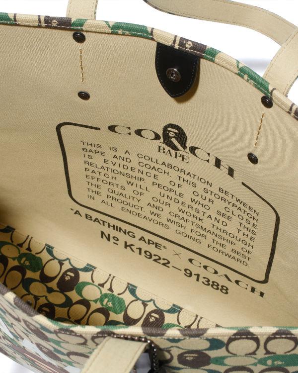 X Coach tote bag