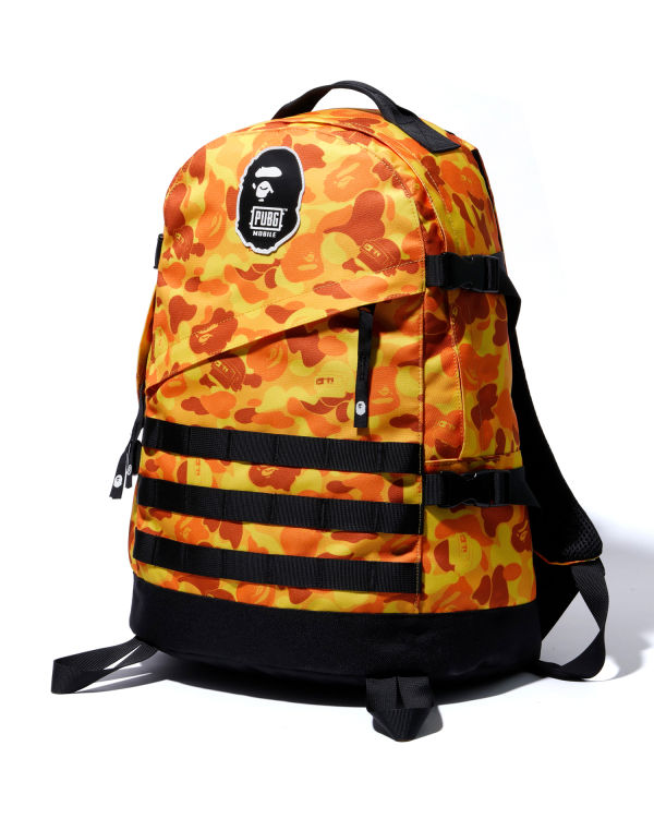 X PUBG MOBILE camo backpack