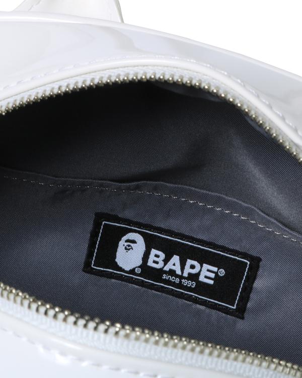 BAPE enamel shoulder bag