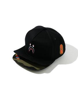 Double Visor Shark Snap Baseball cap