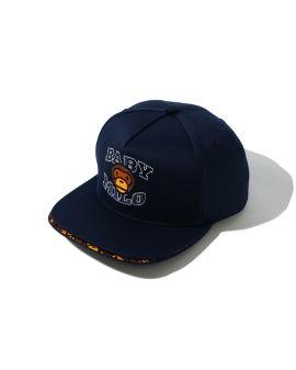 Double Visor Milo Snap Back cap