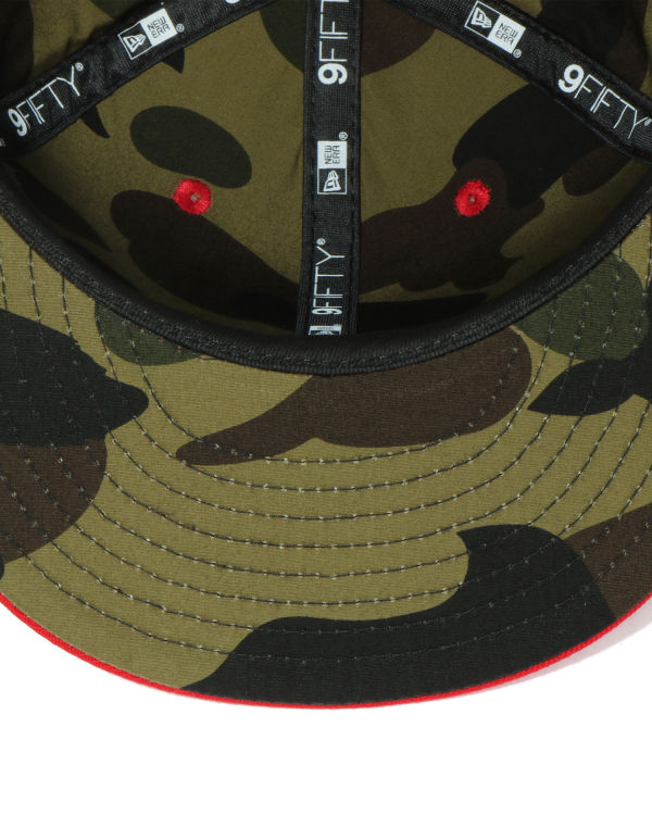 X New Era Bape snap back cap