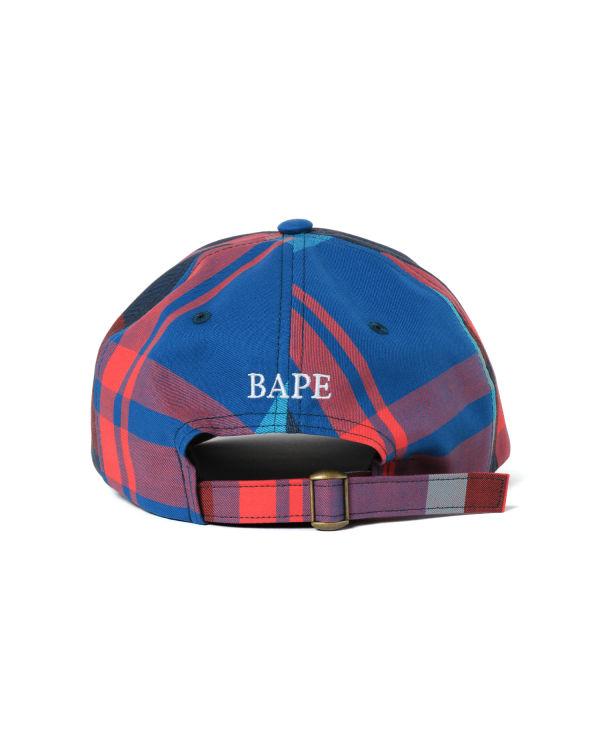 Bape Check panel cap