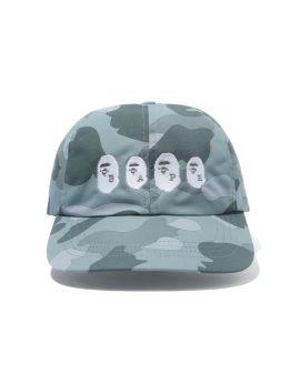 Color Camo Ape Head Panel cap