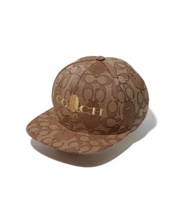 X Coach Jacquard Baseball cap