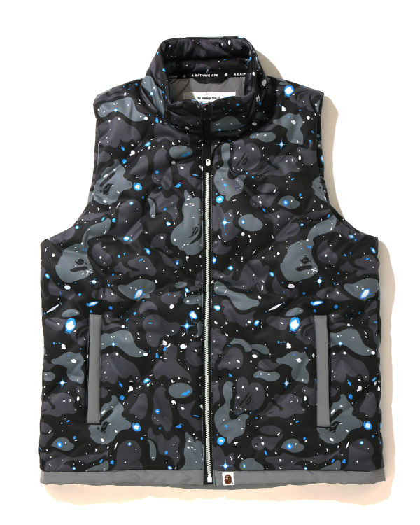 Space Camo down vest