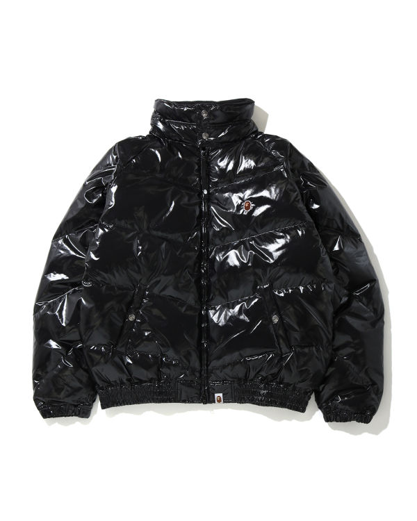 Glossy A Bathing Ape down jacket