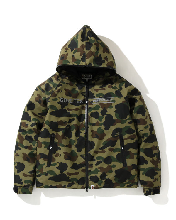 Gore-tex 1st Camo hooded down jacket