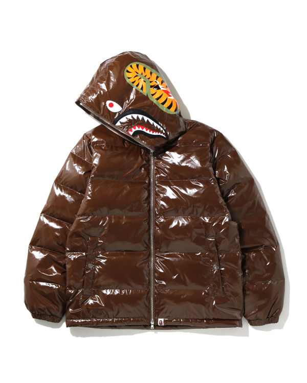 Glossy Shark down jacket