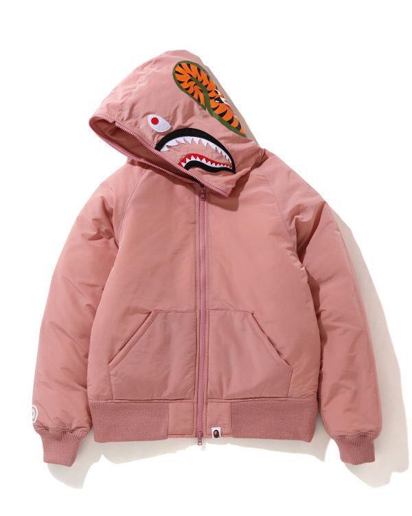 Shark Hooded down jacket
