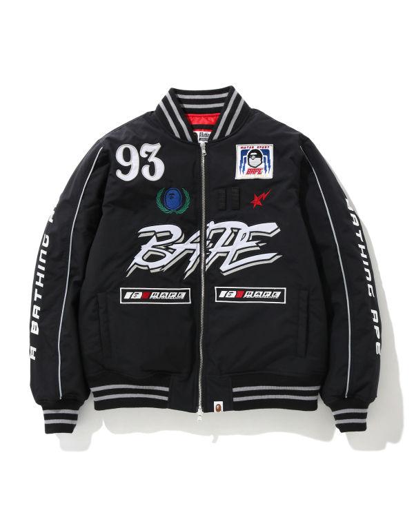 Motor Sport down bomber jacket