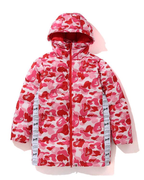 ABC long hoodie down jacket