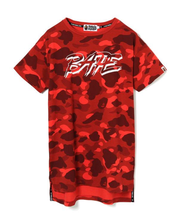 Colour Camo Bape t-shirt dress