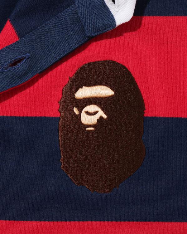 Large Ape Head Rugby shirt dress
