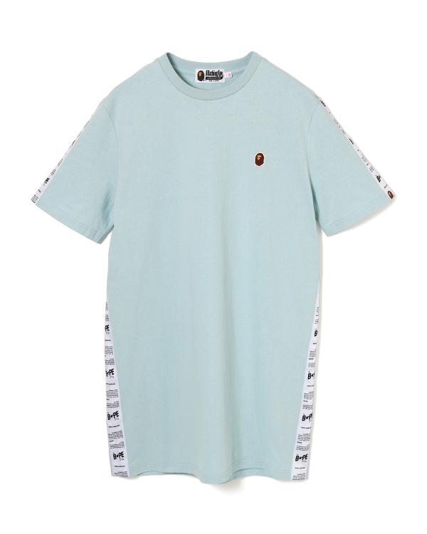 BAPE Sta taped t-shirt dress