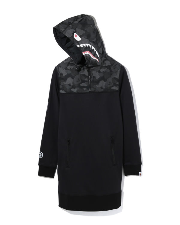 ABC Dot Reflective Camo Shark dress
