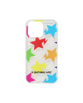 Sta Pattern iPhone 13 Pro Clear Case