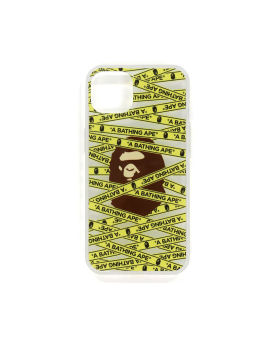 Tape Logo iPhone 13 Clear Case