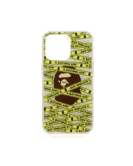 Tape Logo iPhone 13 Pro Clear Case