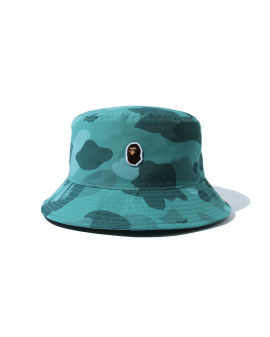 Color Camo One Point Bucket hat