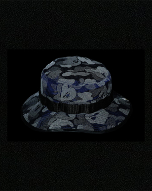 ABC Dot Reflective bucket hat