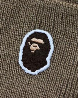Ape Head One Point Knit Beanie