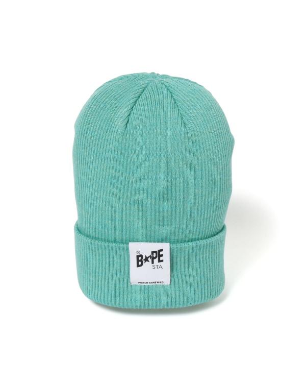 BAPE STA tape knit cap